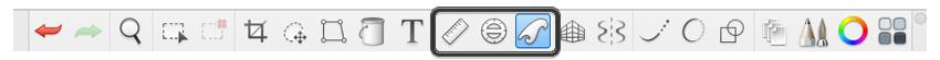 sketchbook ruler ellipse franch curve