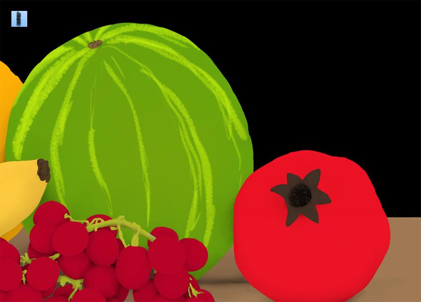 basic watermelon pattern