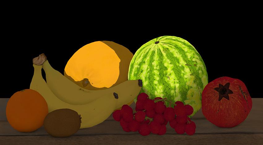 revea light on melon