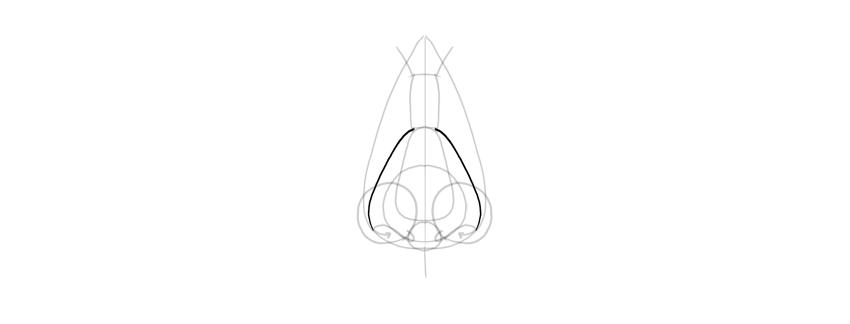 draw lower sides