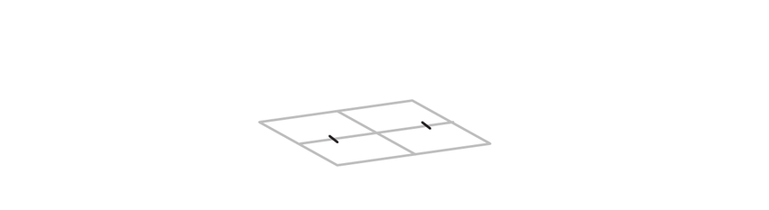 mark one axis