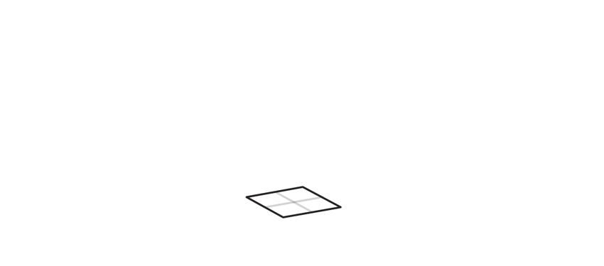 outline the base of tetragonal crystal