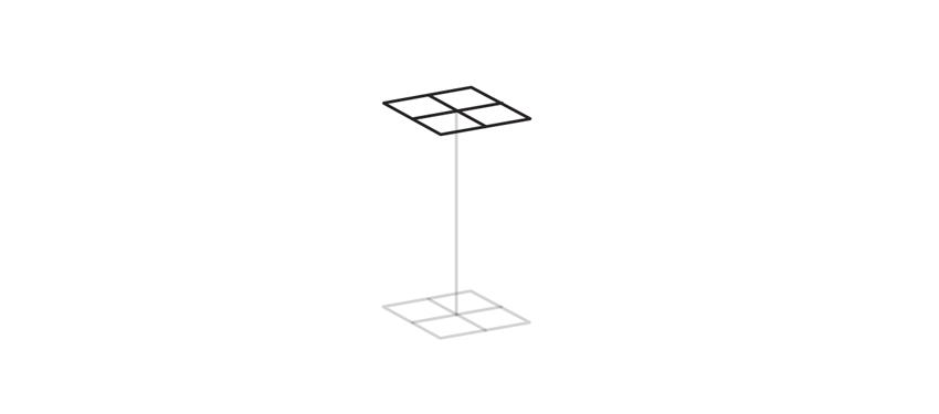 draw second base of tetragonal crystal