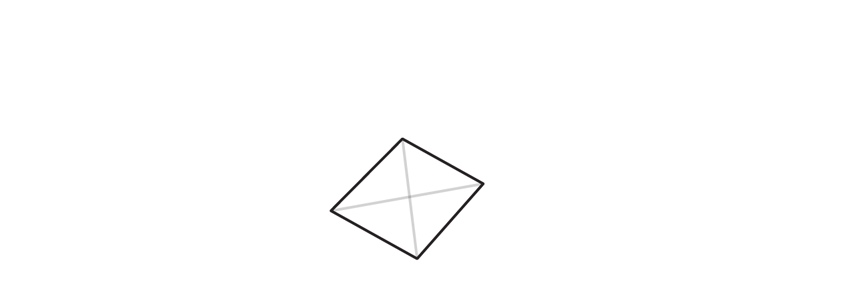 draw base of trigonal crystal