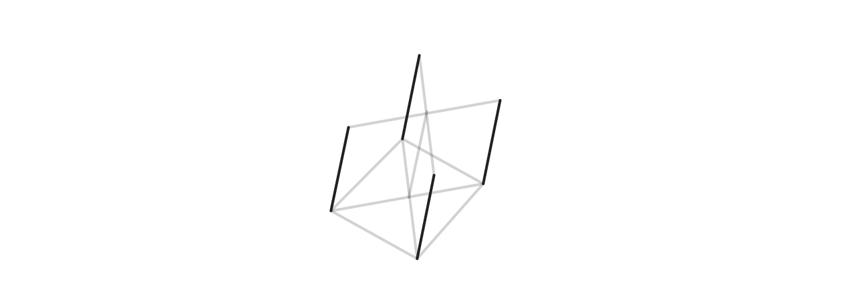 connect both bases of trigonal crystal