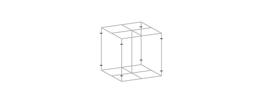 mark vertical sides