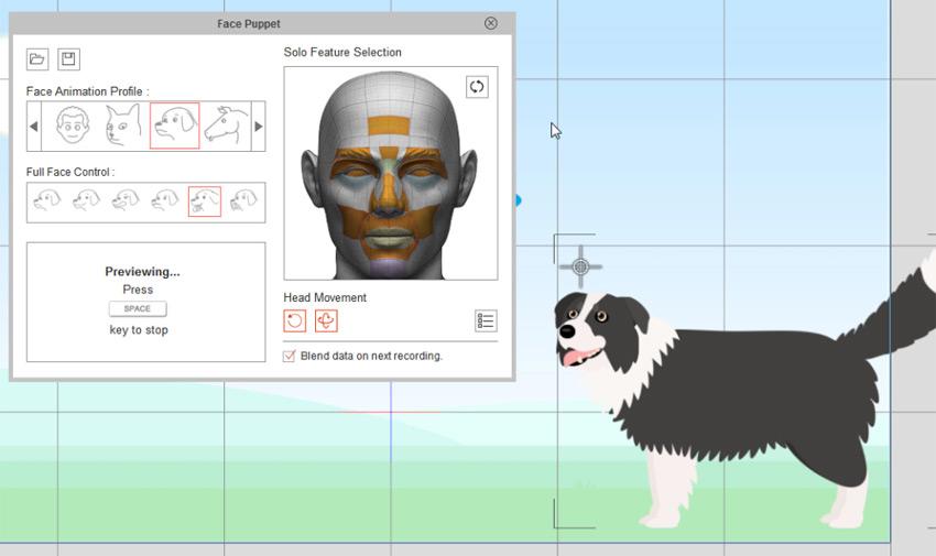 simple facial animation cta3