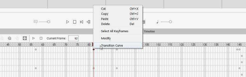 transition curve cta3
