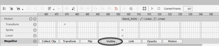 open visibility tab