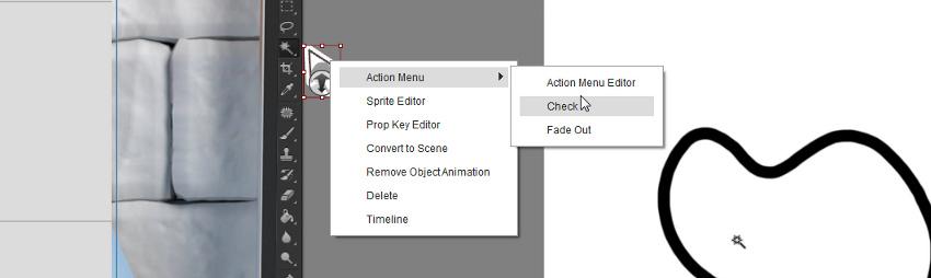 add animated arrow