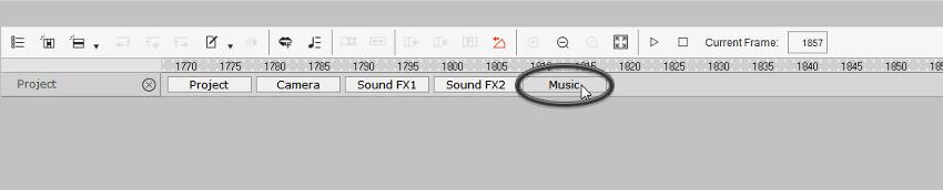 open music tab