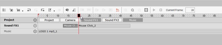 add click sound effect