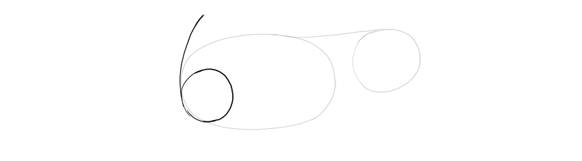 draw simple shoulder