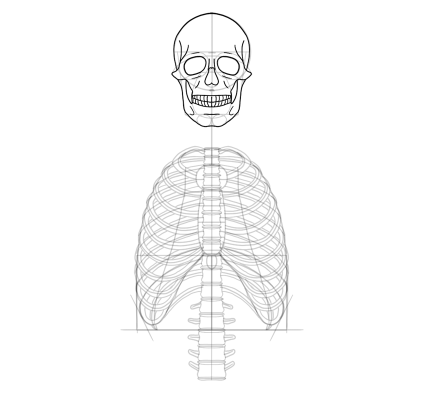 draw the skull