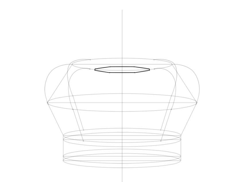 full elliptical octagon