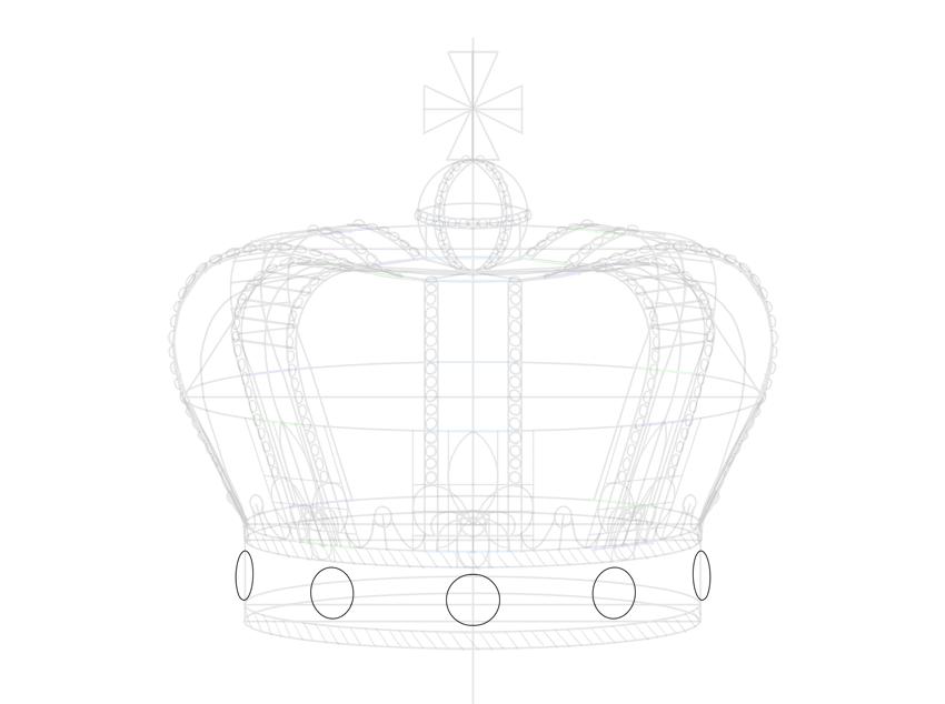 circle base for diamonds