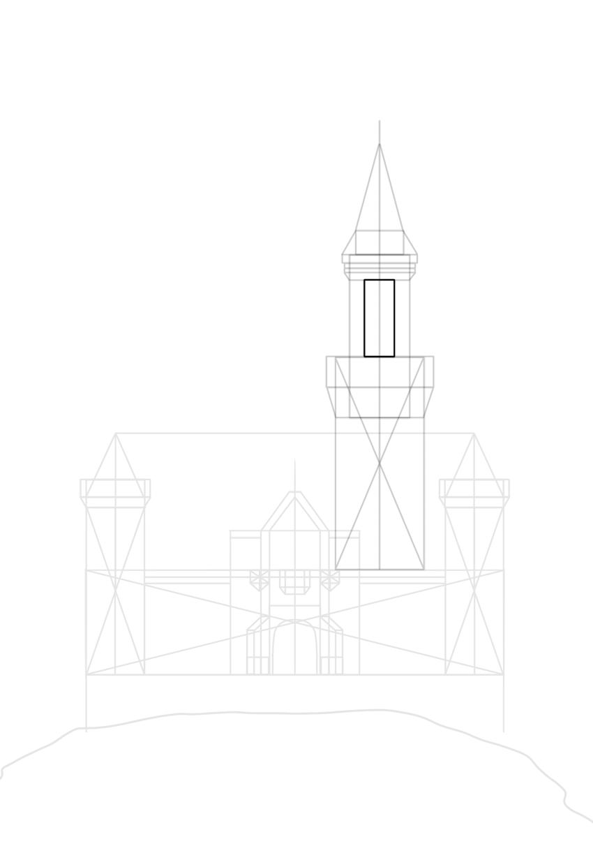 hexagonal tower
