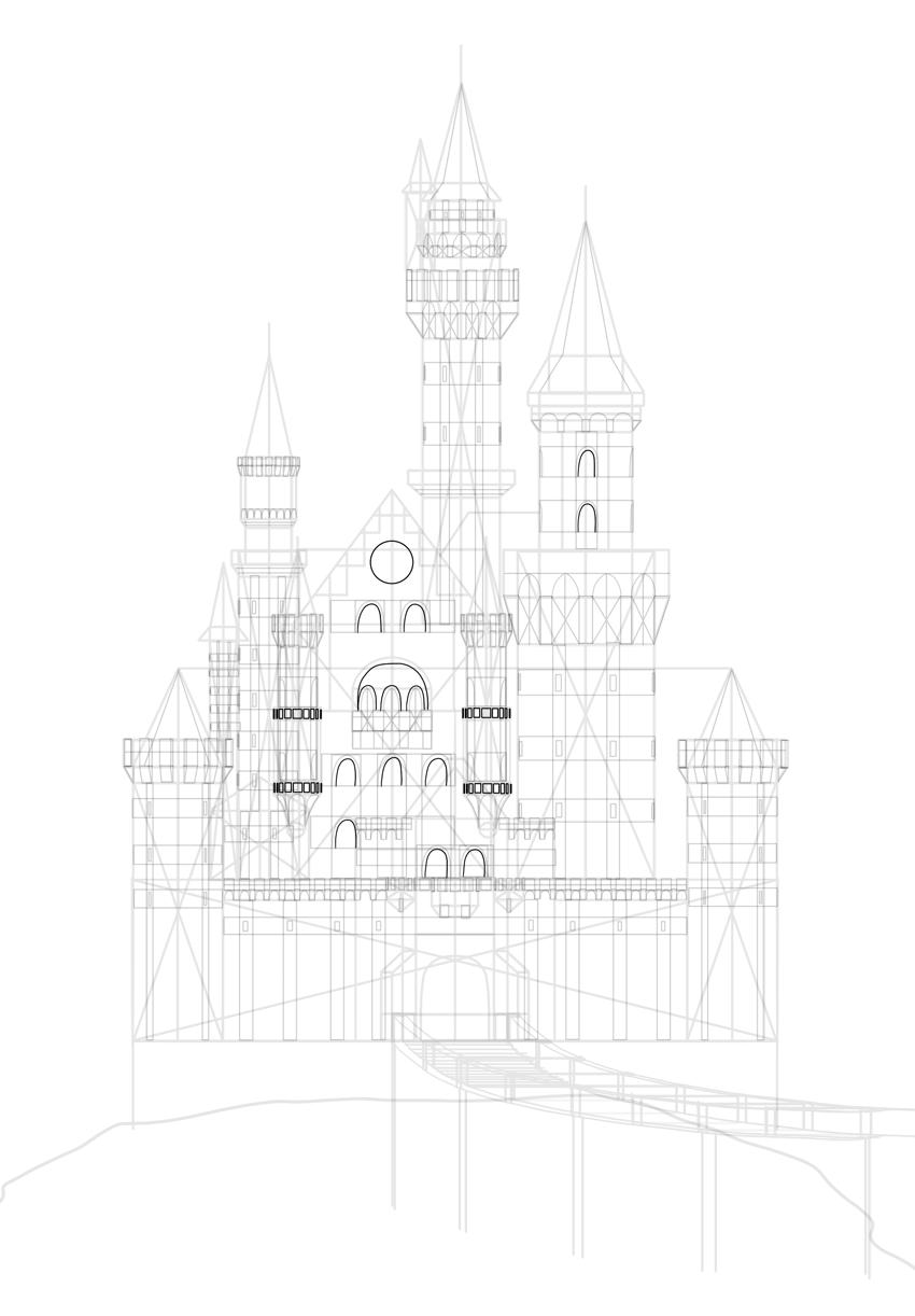 decorations of castle