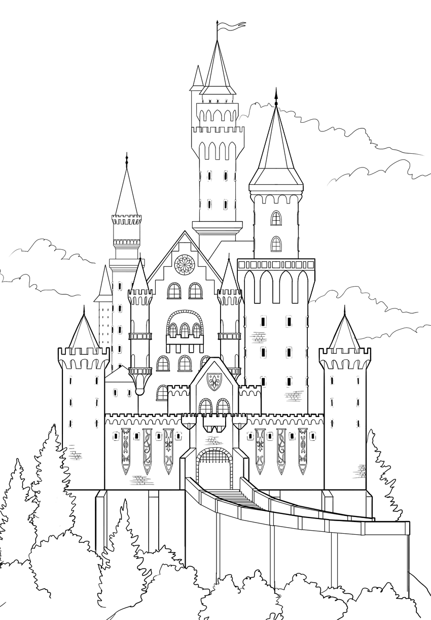 outline the castle