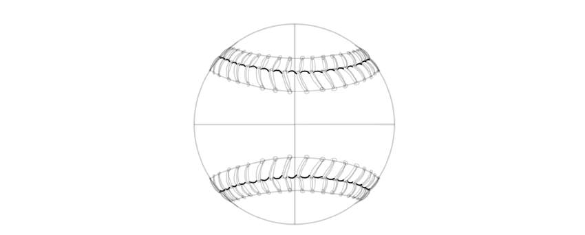 define the border of stitching