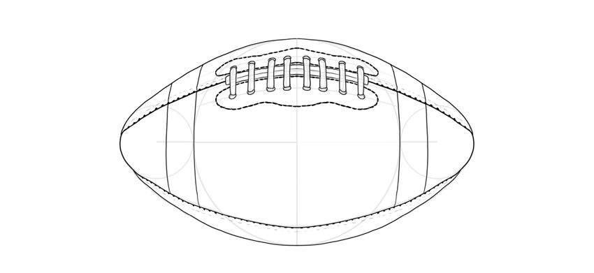 draw a football