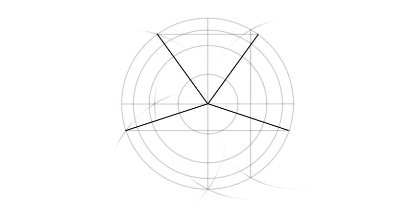 pentagon rays