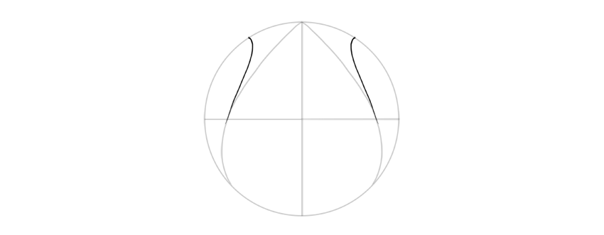 draw curves to the side