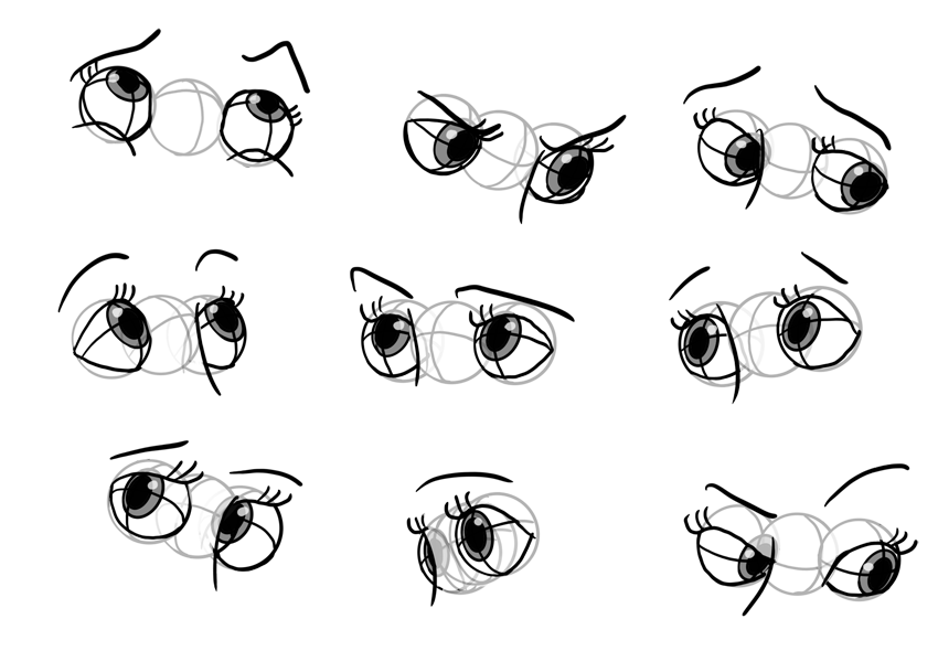 disney expressions eyes