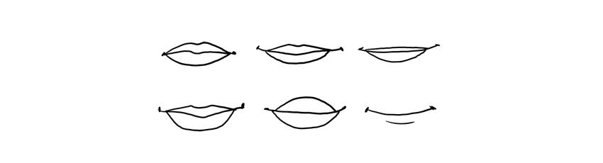 disney lips style
