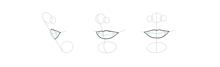 lip outline