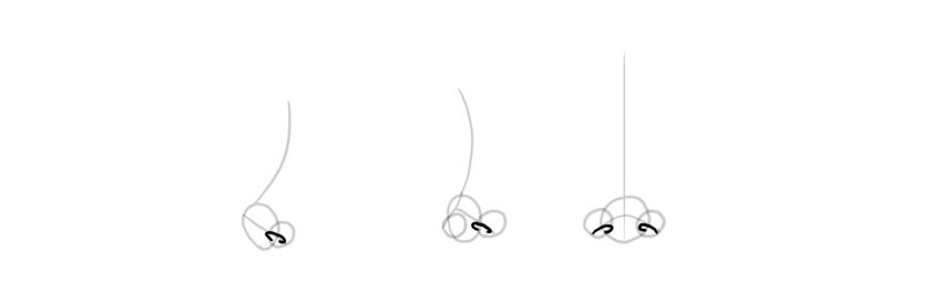 nostrils drawing