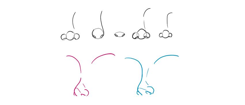 disney nose styles