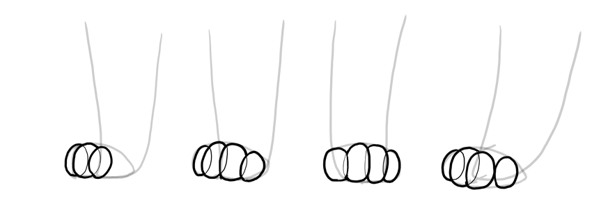 shape of cat toes