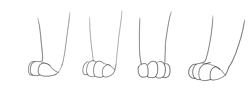 how to draw lion king paws