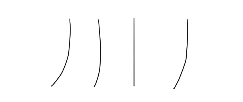 draw rhythm of legs