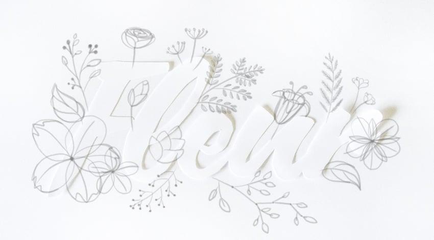 draw little berries
