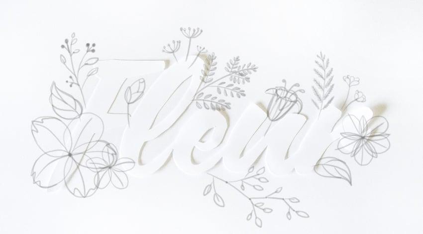 draw simple flowers