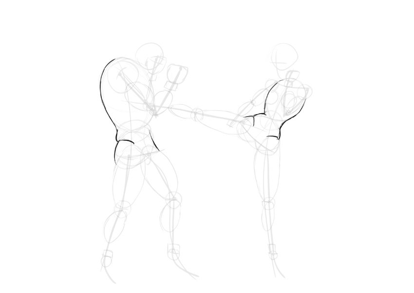 draw anime torso