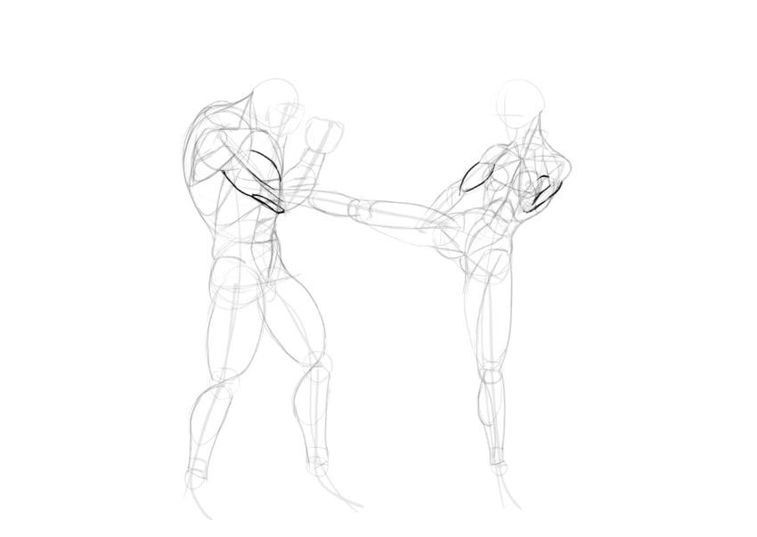 biceps triceps anime