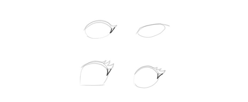 manga eyes shape definiton