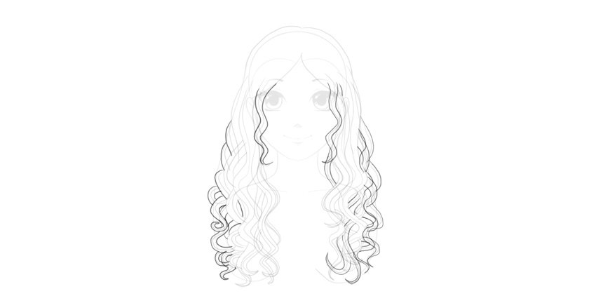 wavy hairstyle step by step