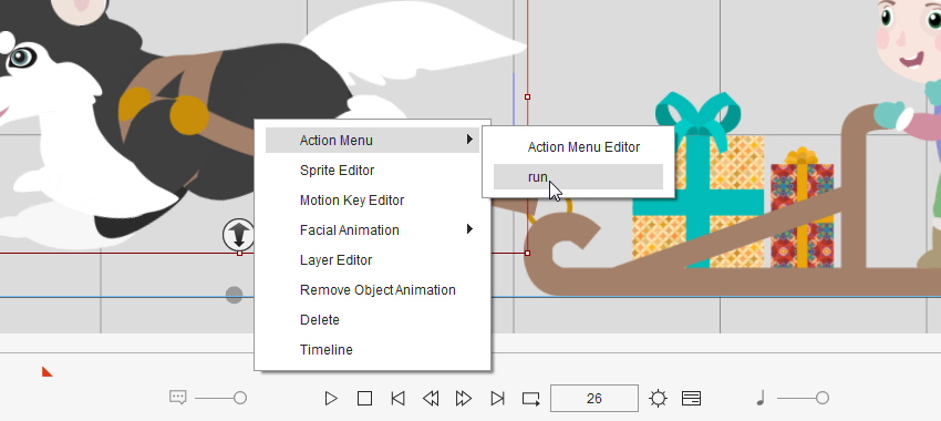 add your own animation