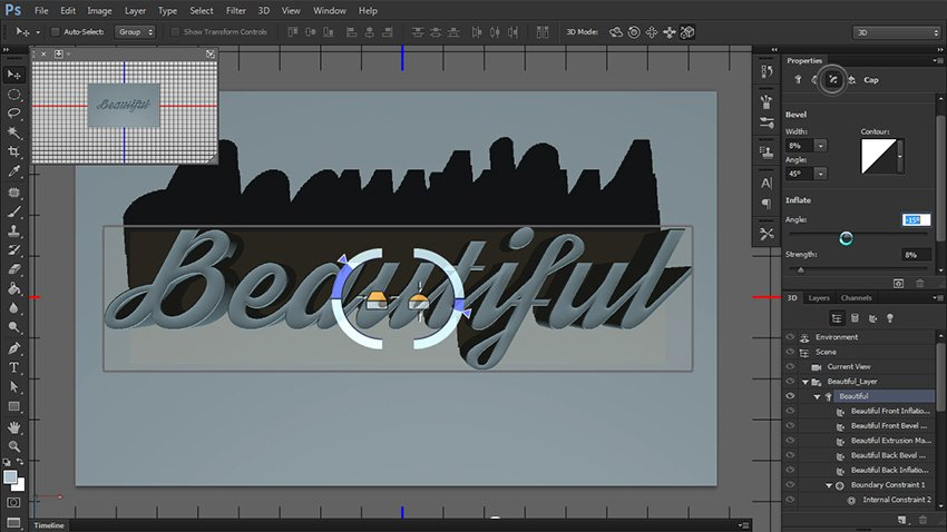 adjust shape preset options