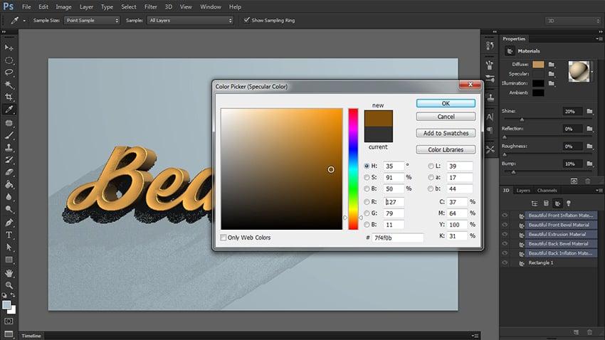 add specular color