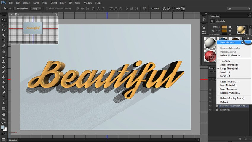 create new material