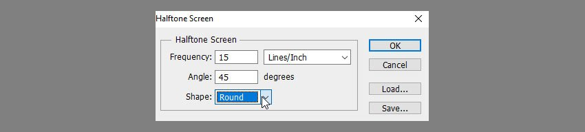 halftone screen settings