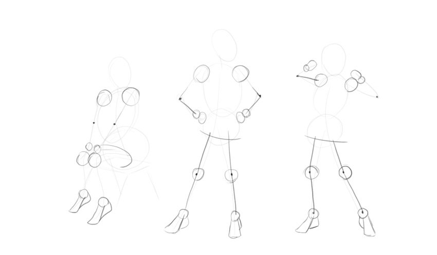 sketch body joints