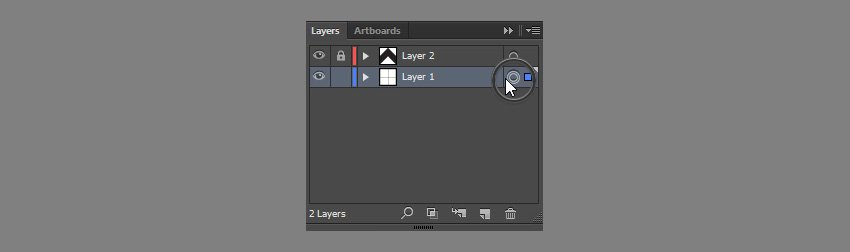 unlock layer and select