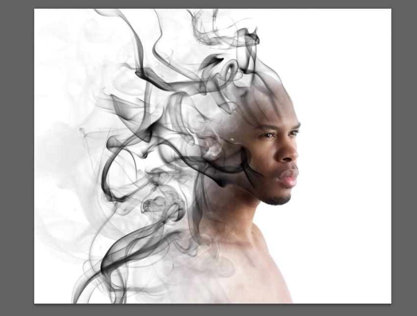 add background smoke