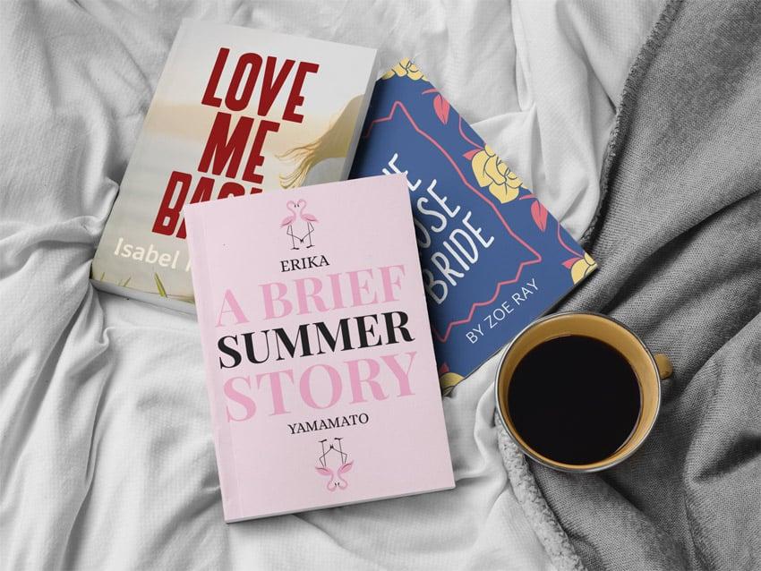 Three Books Mockup